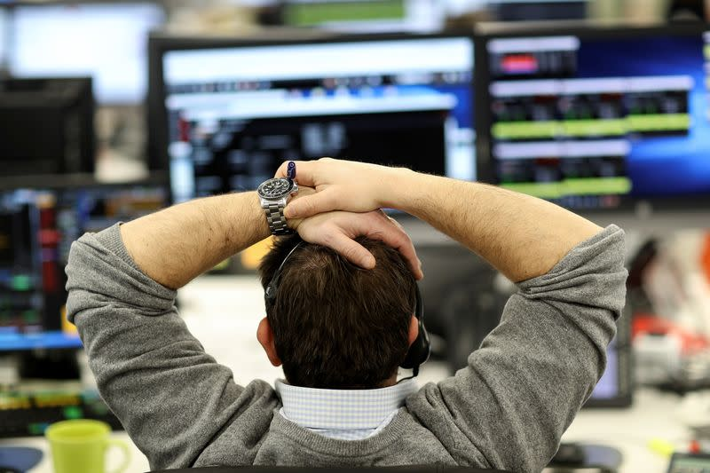 London shares fall for second day as virus concerns dull rebound hopes