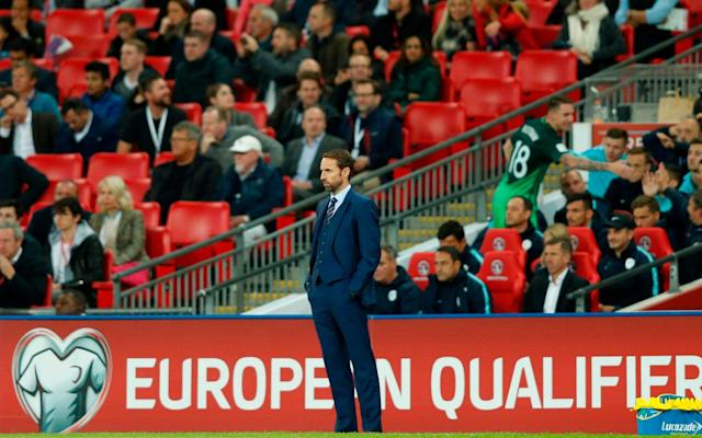 Gareth Southgate's side did little to entertain their fans - AFP