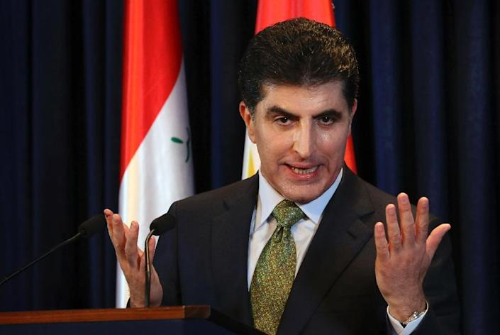 """The Iraqi Kurds' new president Nechirvan Barzani accepts that while he may have succeeded to the region's top post, his uncle Masoud remains the """"real boss"""" (AFP Photo/SAFIN HAMED)"""