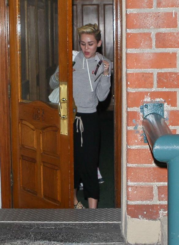 Miley Cyrus Makes Late Night Dash To Doctors Following We Can't Stop Video Debut