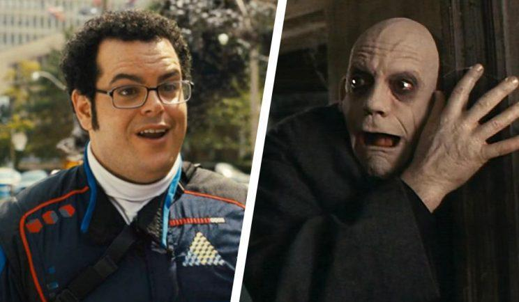 Josh Gad as Uncle Fester? - Credit: Columbia/Paramount