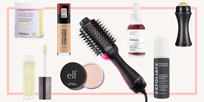 """<p>In BTT times (what I like to call Before TikTok times), I thought my beauty and <a href=""""https://www.seventeen.com/beauty/makeup-skincare/advice/a23933/clear-skin-tips/"""" rel=""""nofollow noopener"""" target=""""_blank"""" data-ylk=""""slk:skincare routine"""" class=""""link rapid-noclick-resp"""">skincare routine</a> was pretty impressive. I knew what products to shop when I walked into <a href=""""https://www.sephora.com/"""" rel=""""nofollow noopener"""" target=""""_blank"""" data-ylk=""""slk:Sephora"""" class=""""link rapid-noclick-resp"""">Sephora</a>, and what cleanser was always a safe bet from <a href=""""https://www.seventeen.com/beauty/makeup-skincare/a15534121/best-acne-products-for-any-breakout/"""" rel=""""nofollow noopener"""" target=""""_blank"""" data-ylk=""""slk:Amazon"""" class=""""link rapid-noclick-resp"""">Amazon</a>. As it turns out, my beauty and skincare routine ATT — After TikTok — is actually <em>so</em> much better. Thanks to all of the product recommendations floating around the app, I've realized I was missing out on a world of incredible (and affordable) beauty go-tos. </p><p>Here are some favorite TikTok beauty products you won't want to miss out on. </p>"""