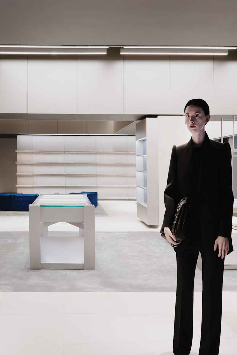 Balenciaga Unveiled Realistic Mannequins at Its New York City Flagship Store