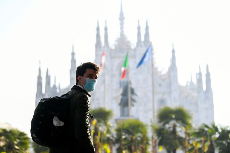 FILE PHOTO: Lombardy tightens restrictions as COVID-19 infections surge in the region