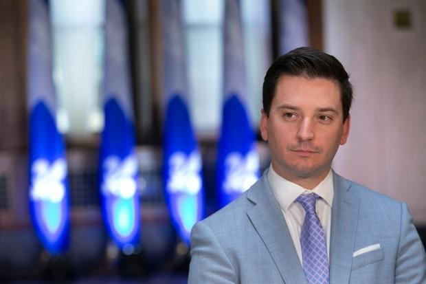 Simon Jolin-Barrette, the province's justice minister, is expected to table a bill this fall to pave the way for the creation of a special tribunal for cases of sexual and domestic violence.  (Ivanoh Demers/Radio-Canada - image credit)