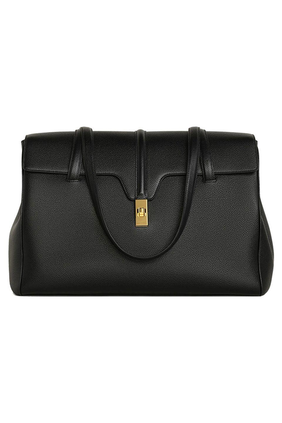 "<p>We might not be heading back to the office anytime soon, but you can still be all business with Celine's newest satchel. The recently launched bag is a complement to the '16' series first created by Hedi Slimane, his first handbag for the brand in 2018. This softer style, made of supple calfskin leather, is a new closet staple. </p><p><em>Celine, $2,650; celine.com</em></p><p><a class=""link rapid-noclick-resp"" href=""https://www.celine.com/en-us/celine-shop-women/bags/new/large-soft-16-bag-in-supple-grained-calfskin-194043CR8.38NO.html"" rel=""nofollow noopener"" target=""_blank"" data-ylk=""slk:SHOP NOW"">SHOP NOW</a></p>"