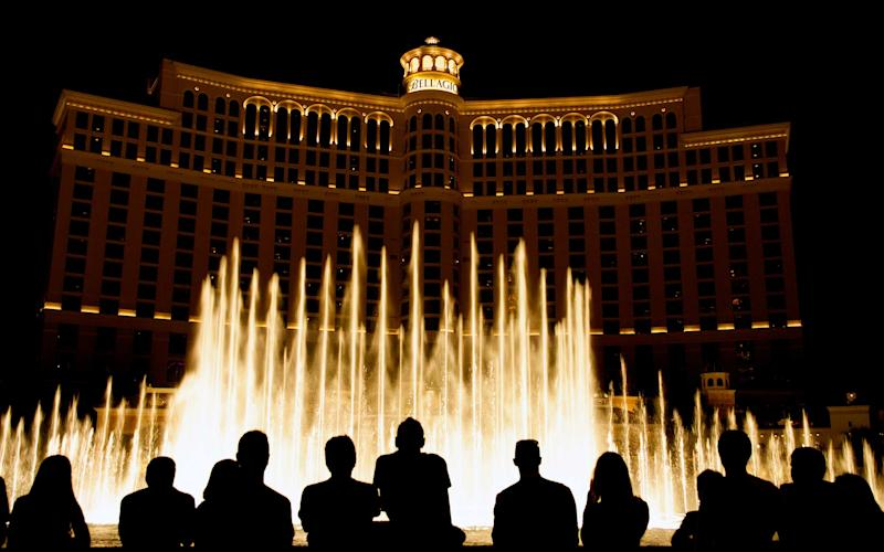 The fountains of the Bellagio - istock