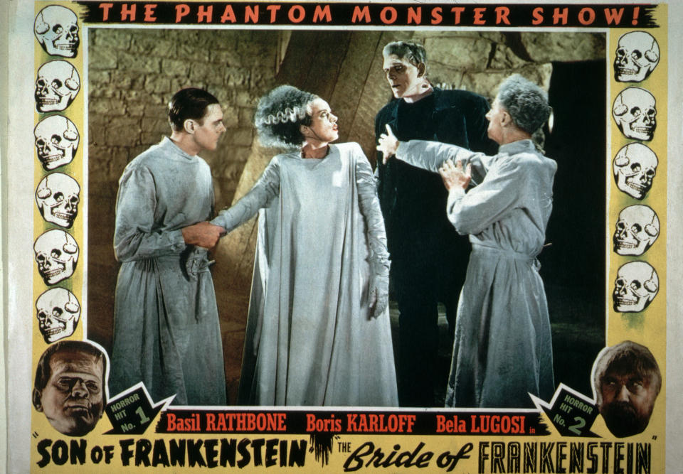 Bride of Frankenstein Movie Poster