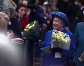 <p>Sometimes you'll see royals with arms full of flowers while greeting well-wishers, that's because they can't refuse them. The same rule goes for gifts — no matter how strange they may be.</p>
