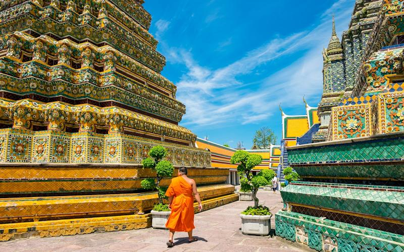 Spend a day exploring Bangkok's spectacular temples, many of which are within walking (or tuk-tuk) distance of each other - This content is subject to copyright.