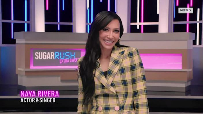 Naya Rivera appears as a guest judge in an episode of Netflix's