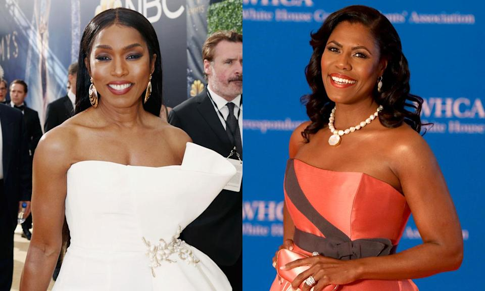 Angela Bassett was mislabeled as Omarosa Manigault Newman in the <em>New York Times</em>. (Photo: Getty Images)
