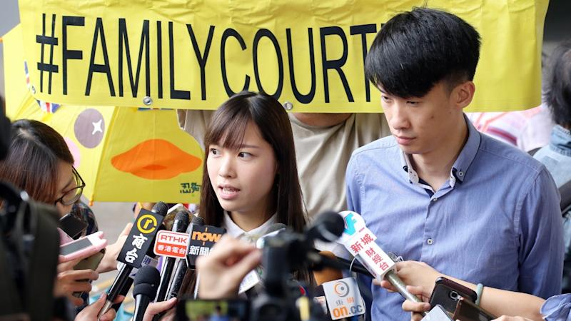 Ousted Hong Kong lawmakers Baggio Leung and Yau Wai-ching convicted for storming Legco meeting