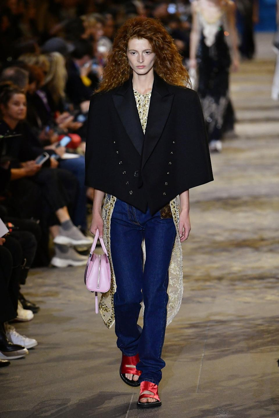 <p>I know this isn't a competition, but this blazer cape wins. </p>