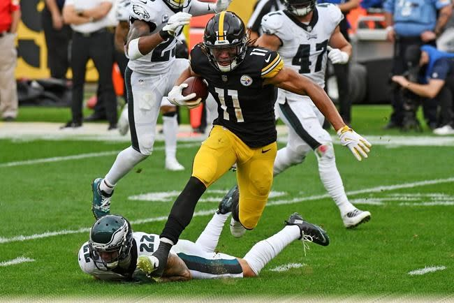 Claypool's climb: Steelers rookie WR drawing raves