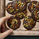 """<p>Don't let the fancy French name fool you, these melted chocolate treats are super easy to make. Just dollop spoonfuls of chocolate onto a baking sheet, top as you wish and let set. That's it!</p><p><em><a href=""""https://www.goodhousekeeping.com/food-recipes/a29475257/what-is-a-mendiant/"""" rel=""""nofollow noopener"""" target=""""_blank"""" data-ylk=""""slk:Get the recipe for Mendiant »"""" class=""""link rapid-noclick-resp"""">Get the recipe for Mendiant »</a></em></p><p><strong>RELATED: </strong><a href=""""https://www.goodhousekeeping.com/food-products/g29627764/best-chocolate/"""" rel=""""nofollow noopener"""" target=""""_blank"""" data-ylk=""""slk:The Best Chocolate You Can Buy to Satisfy Your Sweet Tooth"""" class=""""link rapid-noclick-resp"""">The Best Chocolate You Can Buy to Satisfy Your Sweet Tooth</a><br></p>"""