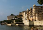 City Palace, Udaipur, was built over a period of nearly 400 years, with contributions from several rulers of the Mewar dynasty. Its construction began in 1553, started by Maharana Udai Singh II of the Sisodia Rajput family as he shifted his capital from the erstwhile Chittor to the new found city of Udaipur.