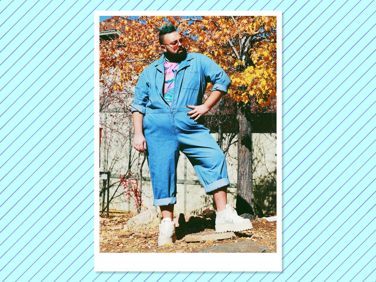 "<p></p><p><a rel=""nofollow"" href=""https://www.instagram.com/abearnamedtroy/"">Solomon</a> is constantly pushing the boundaries of men's fashion. Whether he is in a kelly green women's suit and booties or daytime sequins, he refuses to play by anyone's rules but his own. (Photo: Courtesy of Troy Solomon) </p><p></p>"
