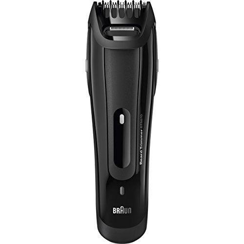 """<p><strong>Braun</strong></p><p>amazon.com</p><p><strong>$35.89</strong></p><p><a href=""""https://www.amazon.com/dp/B01B7FUATM?tag=syn-yahoo-20&ascsubtag=%5Bartid%7C10051.g.36652775%5Bsrc%7Cyahoo-us"""" rel=""""nofollow noopener"""" target=""""_blank"""" data-ylk=""""slk:SHOP NOW"""" class=""""link rapid-noclick-resp"""">SHOP NOW</a></p><p>Sleek German design is always a point of interest for fathers, and this beard trimmer won't let him down.</p>"""