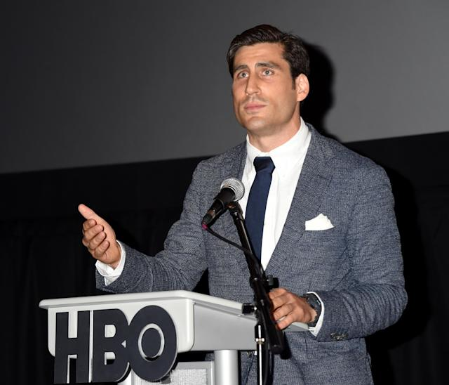 Peter Nelson is the executive vice president of HBO Sports. (Getty Images)