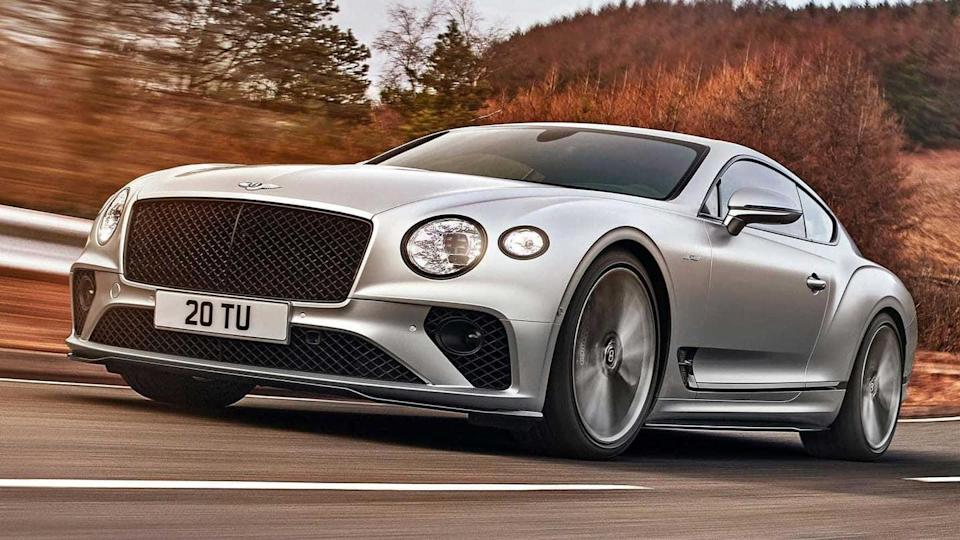 Bentley Continental GT Speed, with a 650hp W12 engine, revealed