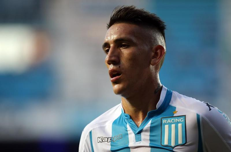 The forward shared the pitch with Lautaro Martinez during his second stint Racing Club in 2017.