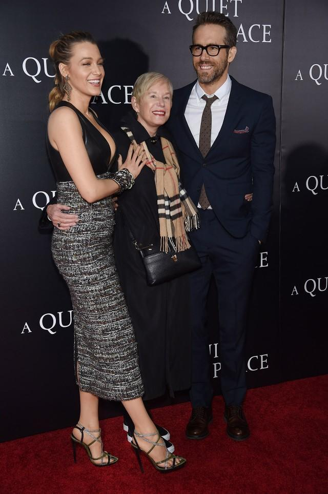 The couple supported their pals, Emily Blunt and John Krasinski, at the premiere of 'A Quiet Place' in NYC.