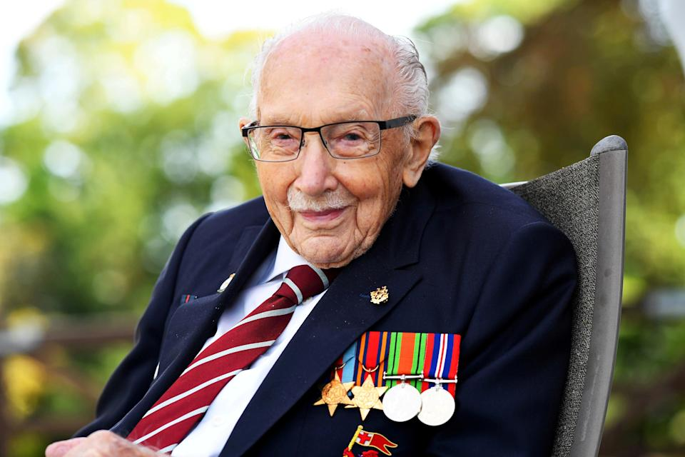 <p>Captain Sir Tom Moore</p> (Reuters)