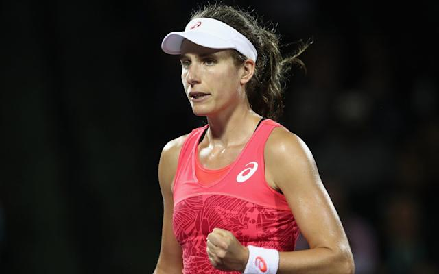 Johanna Konta is on the verge of making British sporting history - Getty Images North America