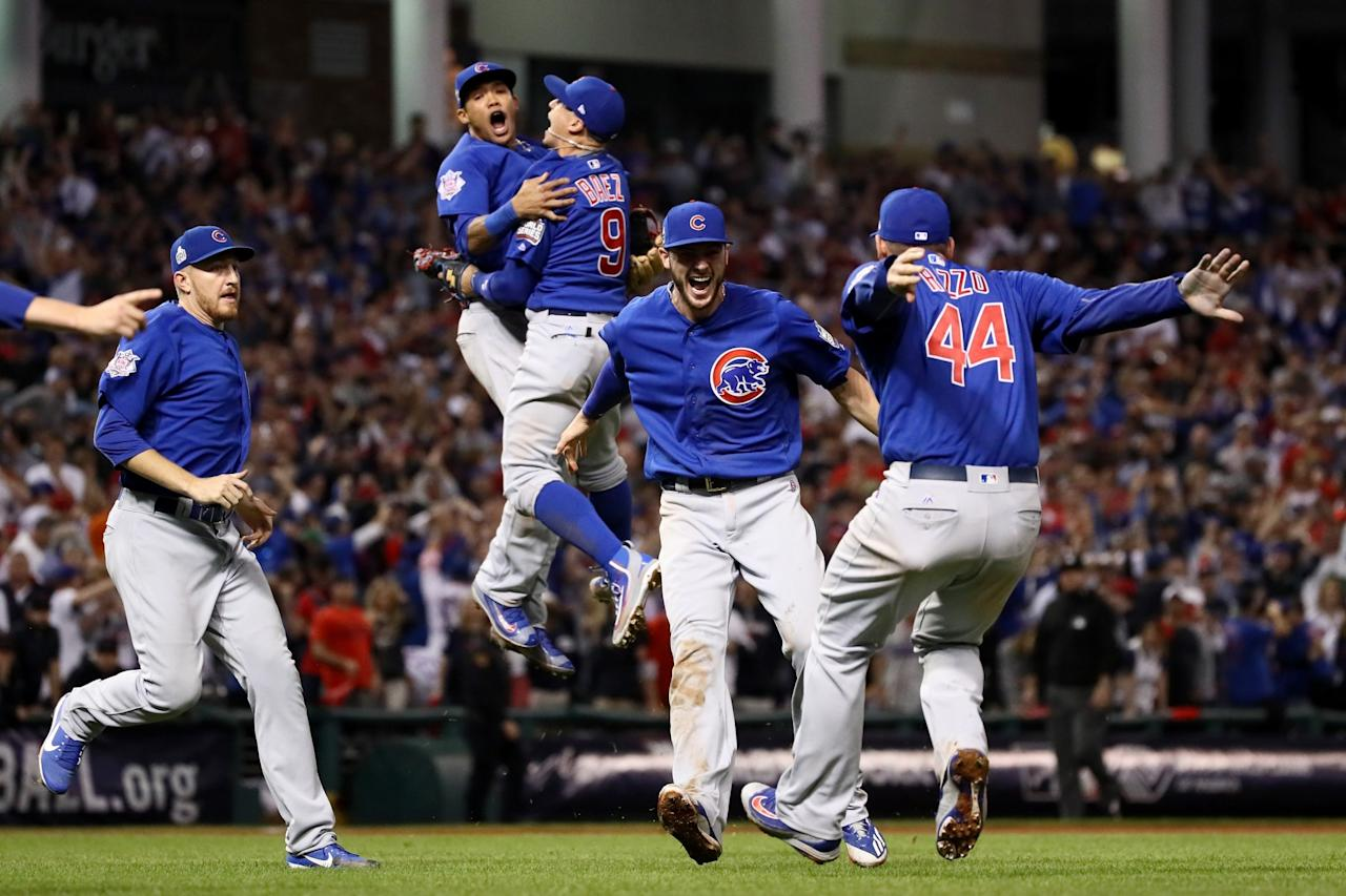 Cubs celebrate first World Series title since 1908