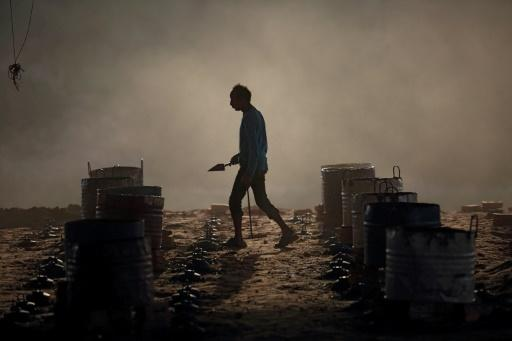 Hundreds of thousands of brick kiln workers endure back-breaking labour and suffocating heat working in South Asian brick kilns