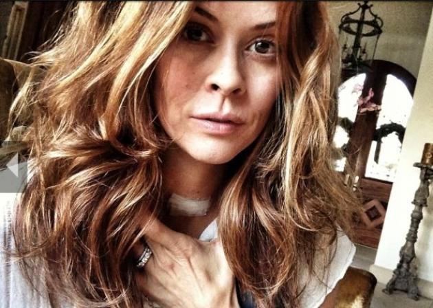 Brooke Burke shows off her surgery bandage on her WhoSay page -- Brooke Burke/WhoSay