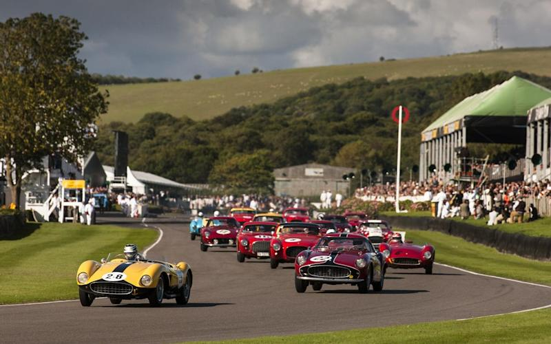 Goodwood's 2015 Lavant Cup was exclusively for Fifties Ferraris