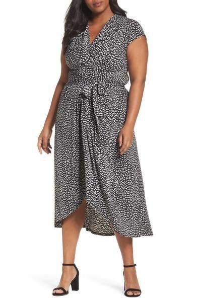 "33% off from $135. Get it <a href=""https://shop.nordstrom.com/s/michael-michael-kors-cheetah-wrap-midi-dress-plus-size/4750724?origin=category-personalizedsort&fashioncolor=BLACK"" target=""_blank"">here</a>."