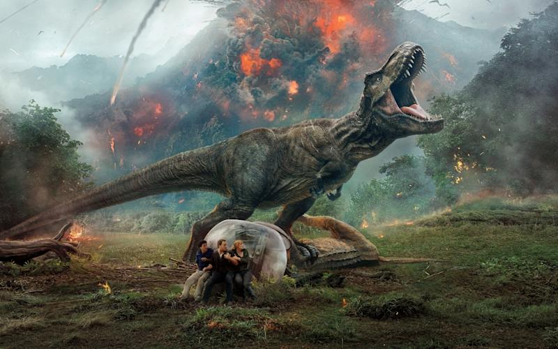 'Jurassic World: Fallen Kingdom'. (Credit: Universal)