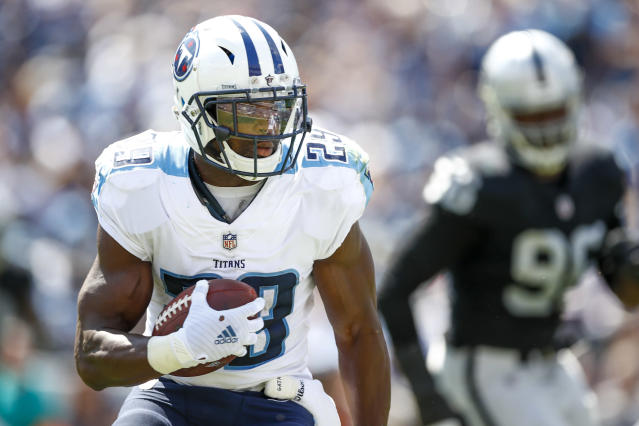 DeMarco Murray, who retired from the NFL last month after seven seasons, will reportedly join Fox as a college football analyst this fall. (Wesley Hitt/Getty Images)