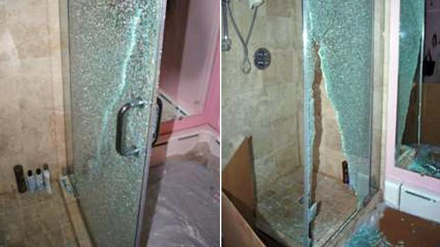 Consumer Beware: Glass Shower Doors Can Shatter Suddenly