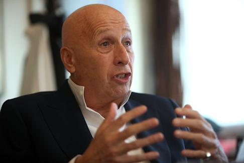 Prominent entrepreneur Allan Zeman is a board member of Airport Authority, which is responsible for the operation and development of Hong Kong International Airport. Photo: Winson Wong