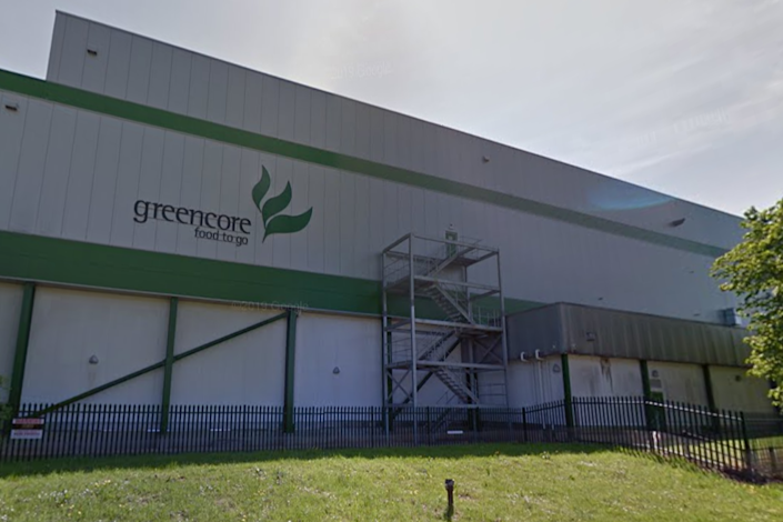 An outbreak of Covid-19 has been confirmed at a Greencore sandwich factory in Northampton: Google Maps