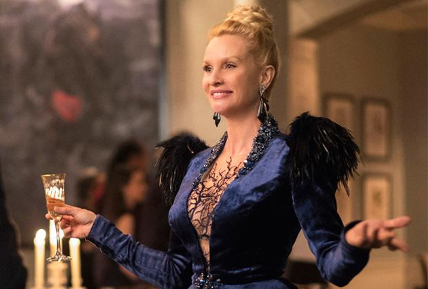 """Despite her reputation for being — shall we say — flighty, Alexis Carrington is sticking around for the foreseeable future. Nicollette Sheridan, who made her debut as Dynasty's mom-ster midway through the CW drama's first season, has been promoted to series-regular status for Season 2, TVLine has learned exclusively. """"She is a force to be […]"""