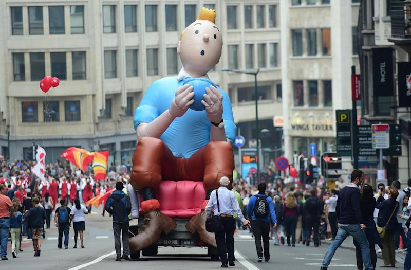 Lost: Tintin (Getty Images)