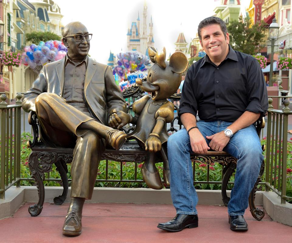 """<p>Lou Mongello is one of the world's leading experts in all things Walt Disney World. With his wildly popular <a rel=""""nofollow noopener"""" href=""""http://www.wdwradio.com/category/podcasts/"""" target=""""_blank"""" data-ylk=""""slk:WDW Radio Podcast"""" class=""""link rapid-noclick-resp"""">WDW Radio Podcast</a>, he brings listeners """"a little bit of Disney magic"""" to their morning commutes and everyday lives each week. Here, the food-obsessed Mongello—who has eaten his way across all the Disney parks, resorts and properties (in the name of research, of course)—gives PEOPLE his picks for the best menu items you probably won't read about in the standard guide books. Scroll through to see all the can't-miss eats for your next Disney vacation. </p>"""