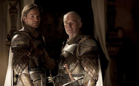 Nikolaj Coster-Waldau and Ian McElhinney in Game of Thrones - Credit: HBO