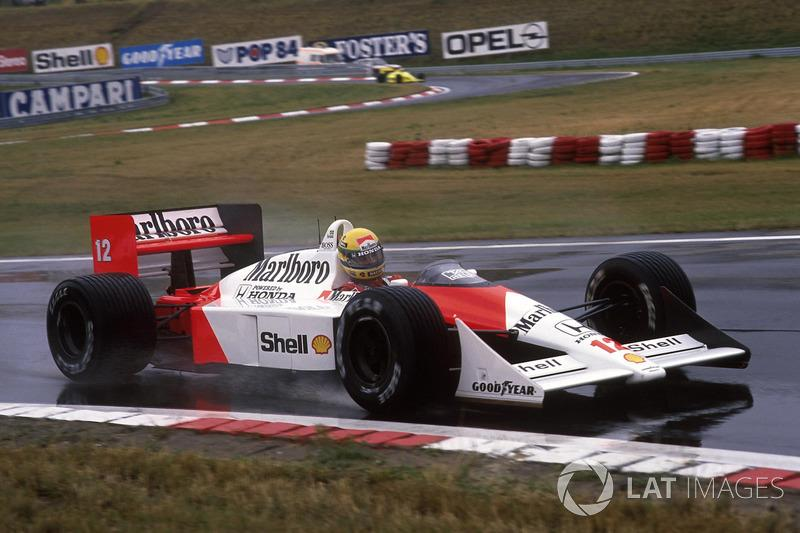 "Ayrton Senna - McLaren MP4 / 4-Honda - GP de Hungría 1988<span class=""copyright"">Sutton Motorsport Images</span>"