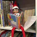 """<p>There's plenty of books to keep Elf busy. </p><p><a href=""""https://www.instagram.com/p/CIVhS5yBax3/"""" rel=""""nofollow noopener"""" target=""""_blank"""" data-ylk=""""slk:See the original post on Instagram"""" class=""""link rapid-noclick-resp"""">See the original post on Instagram</a></p>"""