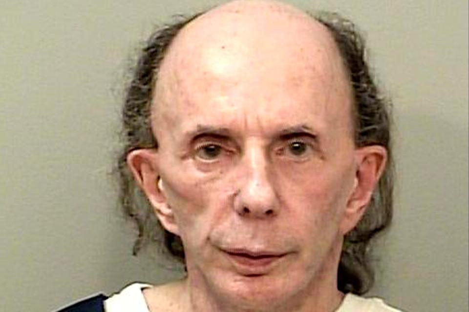 Phil Spector is seen in a picture taken October 28, 2013 released by the California Department of Corrections and Rehabilitation in Stockton, CaliforniaReuters