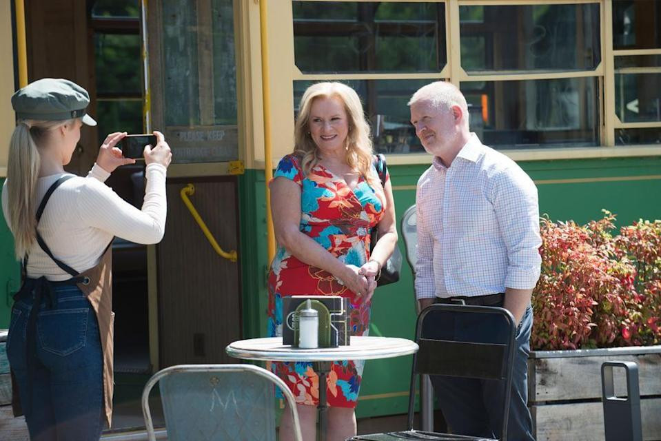 <p>It's a big day at the Tram, as Kyle is taking part in the Best Dish of Erinsborough competition.</p>