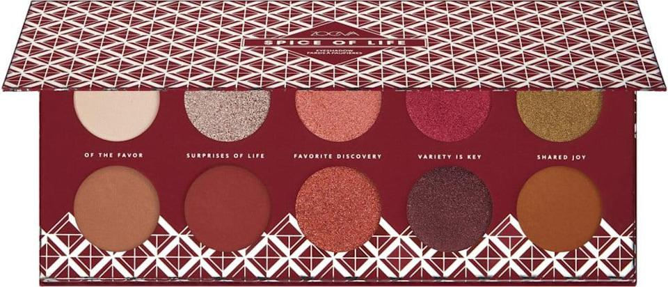 <p>The <span>ZOEVA Spice of Life Eyeshadow Palette</span> ($28) is a gorgeous holiday palette filled with universally flattering shades.</p>