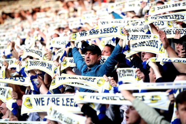 Leeds fans will return to Elland Road for the first time since March 2020