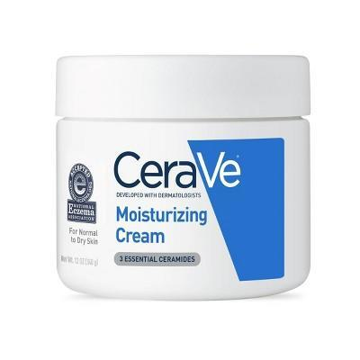 "<h3>CeraVe Moisturizing Cream</h3><br>For an option that won't stick to your silk slip dress, Dr. Dele-Michael recommends this CeraVe tub. ""This has hyaluronic acid and ceramides, which help restore moisture to your skin's barrier,"" she says.<br><br><strong>CeraVe</strong> CeraVe Moisturizing Cream for Normal to Dry Skin, $, available at <a href=""https://go.skimresources.com/?id=30283X879131&url=https%3A%2F%2Fwww.target.com%2Fp%2Fcerave-moisturizing-cream-for-normal-to-dry-skin-fragrance-free-12oz%2F-%2FA-15078541%3Fref%3Dtgt_adv_XS000000%26AFID%3Dgoogle_pla_df%26fndsrc%3Dtgtao%26CPNG%3DPLA_Beauty%252BPersonal%2BCare%252BShopping_Local%26adgroup%3DSC_Health%252BBeauty%26LID%3D700000001170770pgs%26network%3Dg%26device%3Dc%26location%3D9004352%26ds_rl%3D1246978%26ds_rl%3D1247077%26ds_rl%3D1246978%26gclid%3DEAIaIQobChMItt2W66yo5AIVheDICh0EVg5jEAYYASABEgKtrPD_BwE%26gclsrc%3Daw.ds"" rel=""nofollow noopener"" target=""_blank"" data-ylk=""slk:Target"" class=""link rapid-noclick-resp"">Target</a>"